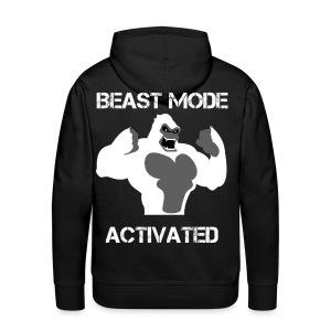 Beast mode activated hoodie - Sweat-shirt à capuche Premium pour hommes