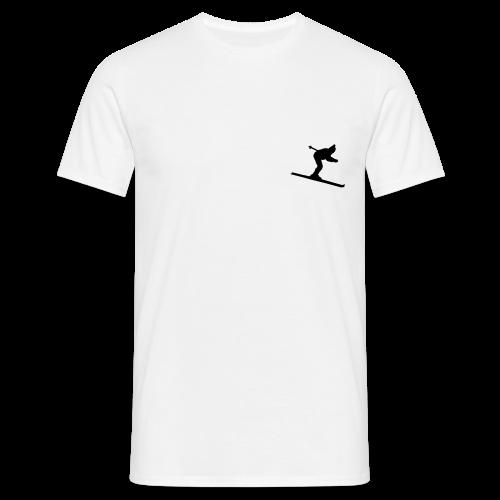 Skifahrer S-5XL T-Shirt - Männer T-Shirt