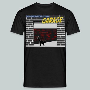 Manomtr Garage - Men's T-Shirt