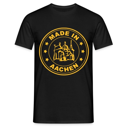Made in Aachen - Der Heimatstempel - Männer T-Shirt