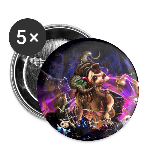 Bella Button 25mm - New Design - Buttons small 1''/25 mm (5-pack)