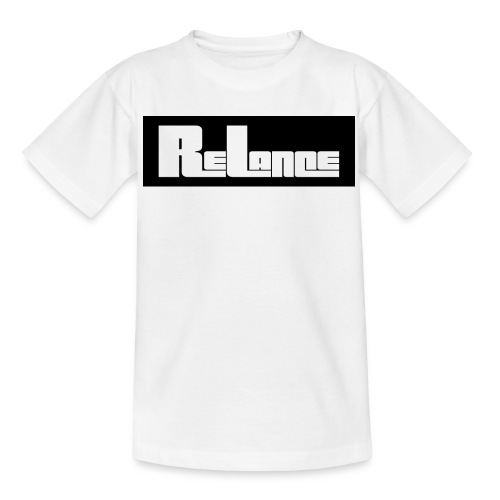 ReLance Simple Logo T-Shirt   - Teenage T-Shirt