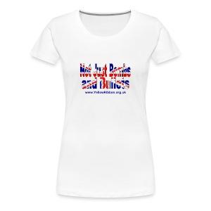Ladies Slim Fit NJBAB T-Shirt - Women's Premium T-Shirt
