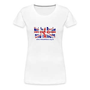 Ladies Slim Fit NJBAB T-Shirt - Women's Premium T-Shirt