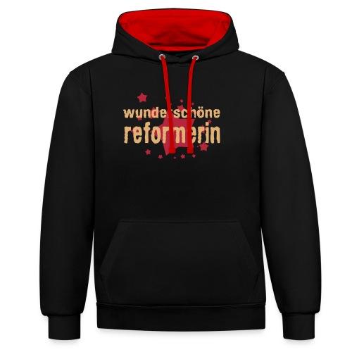 wunderschöne reformerin - Kontrast-Hoodie