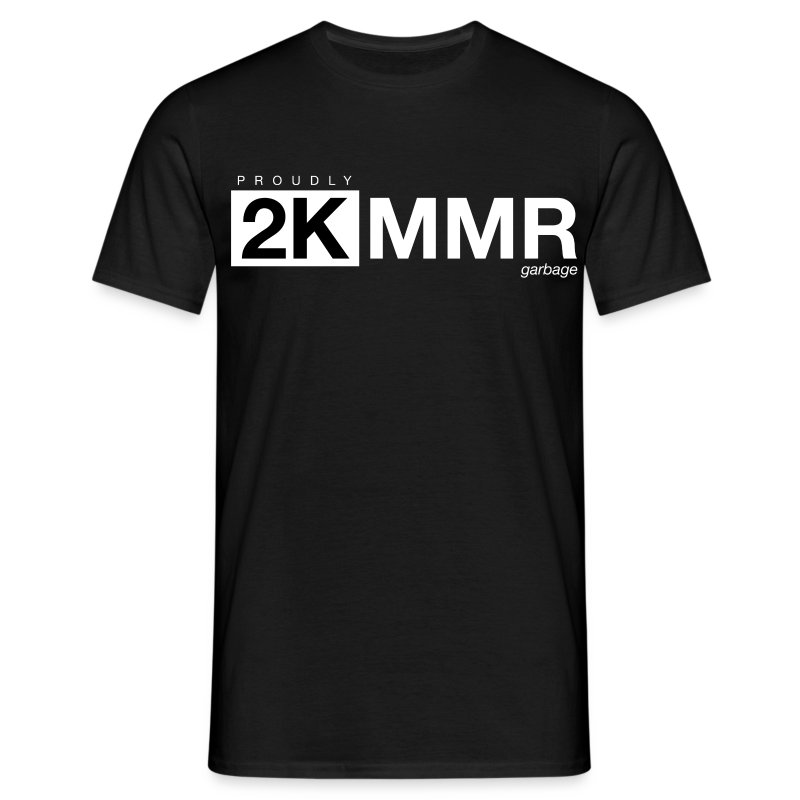 2k mmr black - Men's T-Shirt