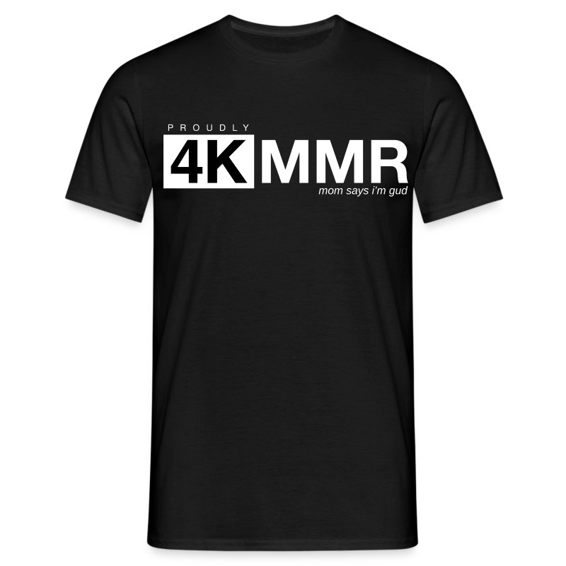 4k mmr black - Men's T-Shirt
