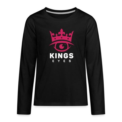 Kings Eyes Long Sleeve - Premium langermet T-skjorte for tenåringer