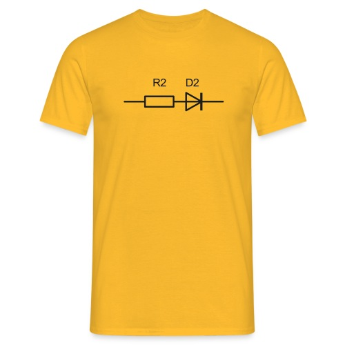 R2d2_sw - Männer T-Shirt