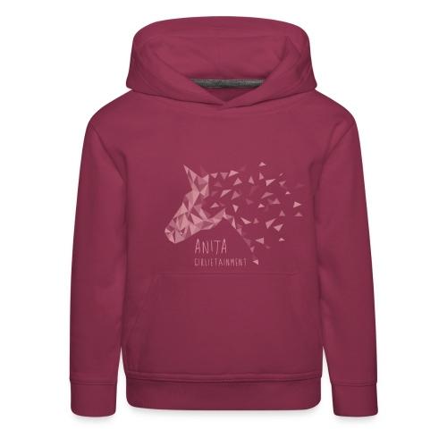 Anita Girlietainment Unicorn Hoodie Kids + Teens - Kinder Premium Hoodie