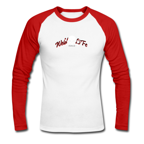 WLC logo Baseball long sleeve t-shirt - T-shirt baseball manches longues Homme