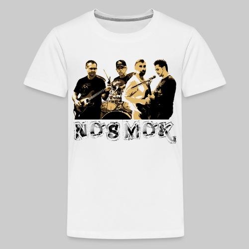 TS Ado NoSMoK Blanc - T-shirt Premium Ado