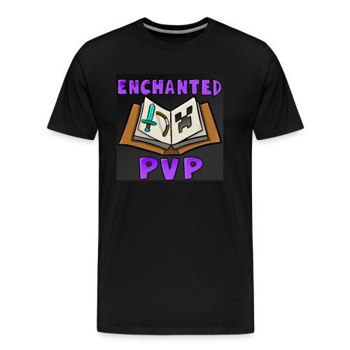 EnchantedPvP Logo Men's Shirt - Men's Premium T-Shirt