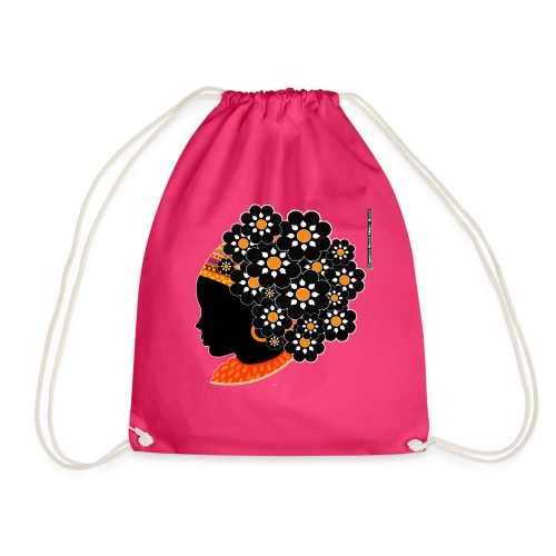 Bolsa Capoeira Soul Black - Drawstring Bag