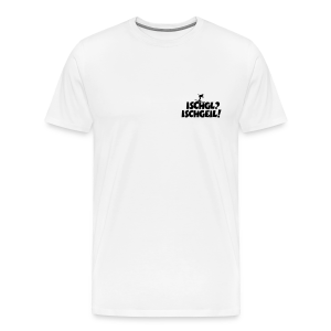 Ischgl Ischgeil Skifahrer S-5XL T-Shirt - Männer Premium T-Shirt