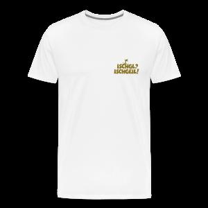Ischgl Ischgeil Skifahrer Gold S-5XL T-Shirt - Männer Premium T-Shirt