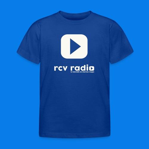 tee shirt enfant - ado RCV radio - T-shirt Enfant