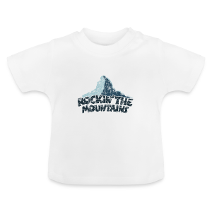 Rockin' the Mountains (Vintage/Dunkel) Baby T-Shirt - Baby T-Shirt