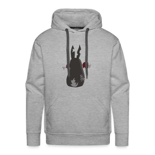 Zombie bunny No. 2 - Männer Premium Hoodie