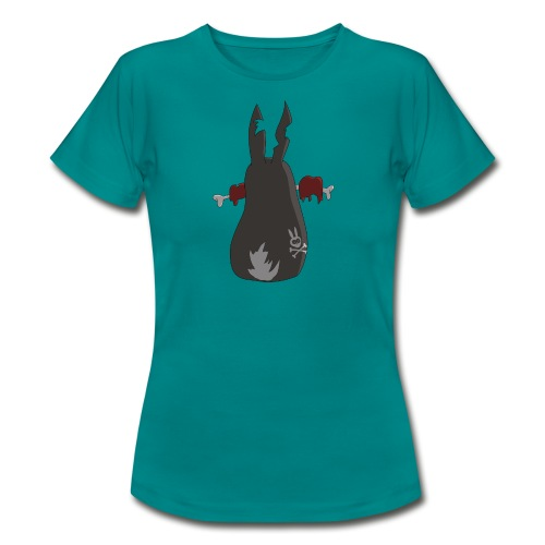 Zombie bunny No. 2 - Frauen T-Shirt