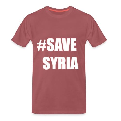 Save Syria Tshirt - Männer Premium T-Shirt