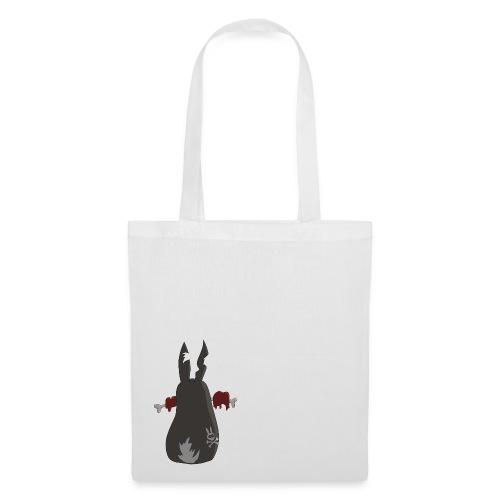 Zombie bunny No. 2 - Stoffbeutel