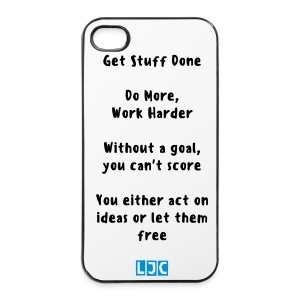 LJC Iphone 4/4s Hard Quotes Case - iPhone 4/4s Hard Case