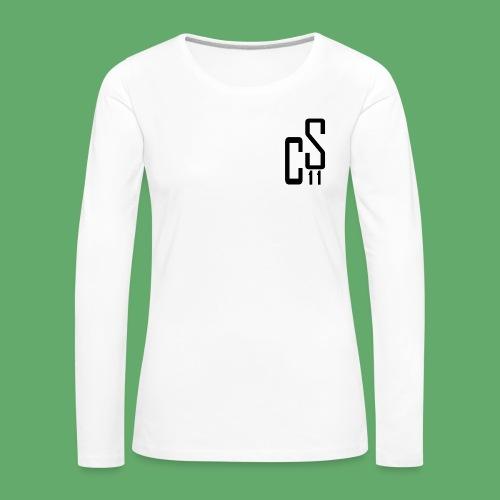 Longarm RUNNING - cs11design Woman - Frauen Premium Langarmshirt