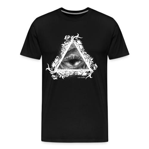 Dreieck Ra Auge - Männer Premium T-Shirt
