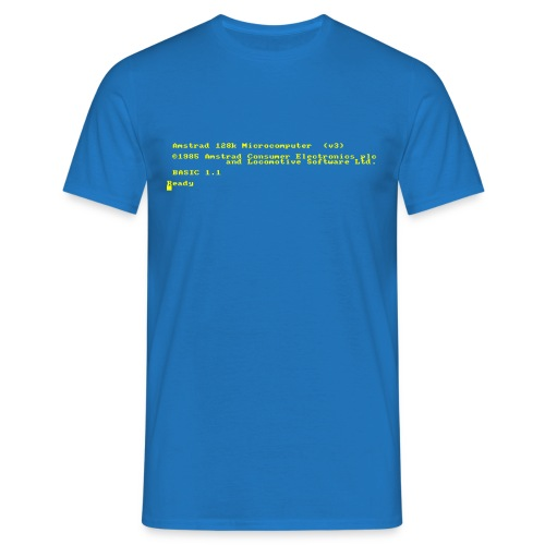 Amstrad CPC6128 - T-shirt Homme