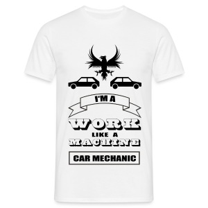 Shirt Car Mechanic - Männer T-Shirt