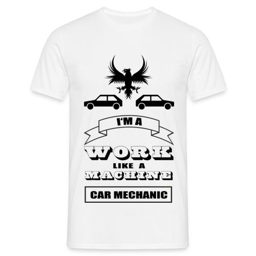 Shirt Car Mechanic - Männer T-Shirt
