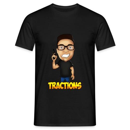ANCIEN T-SHIRT MRTRACTIONS [ PAS CHER ] - T-shirt Homme
