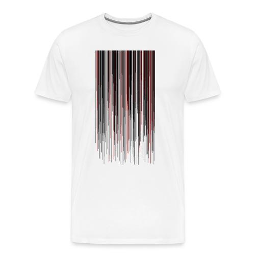 Melting Pixels Shirt - Männer Premium T-Shirt