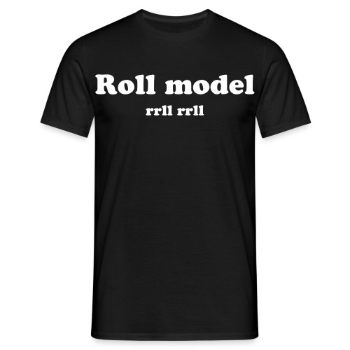Roll Model - T-shirt herr