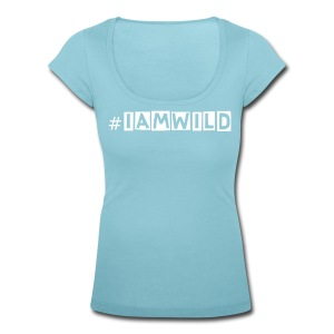#iamwild - Women's Scoop Neck T-Shirt