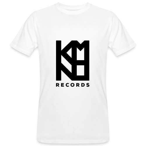 KMNO Records Wht - Tee - Men's Organic T-Shirt