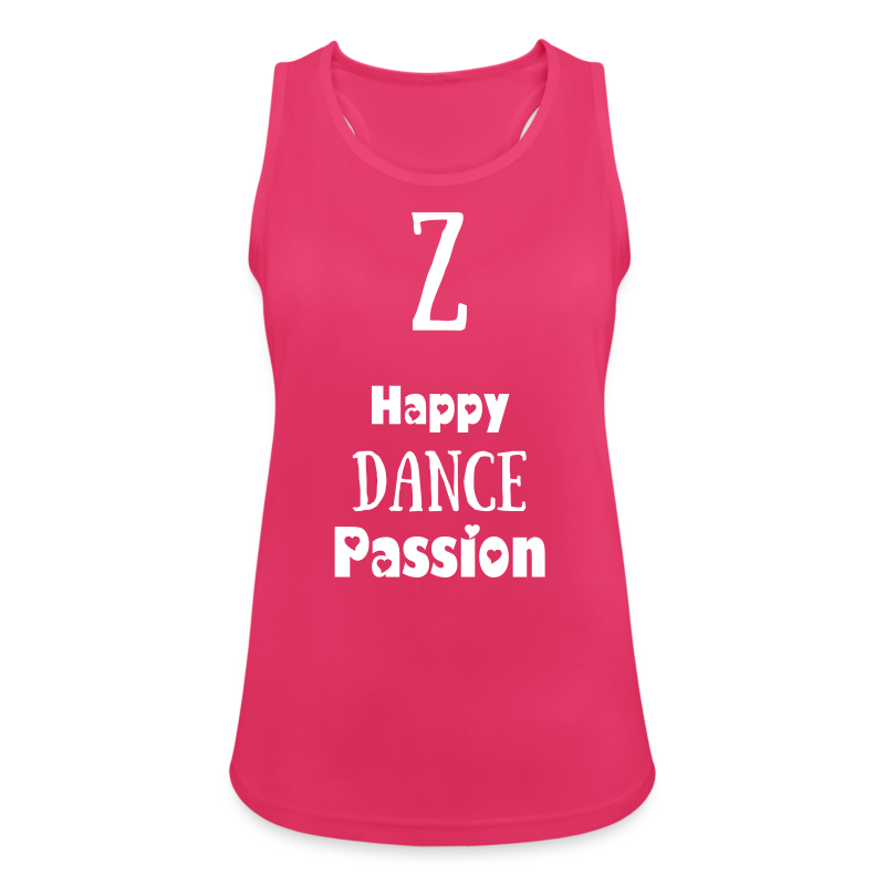 Happy Dance Passion in Pink - Débardeur respirant Femme