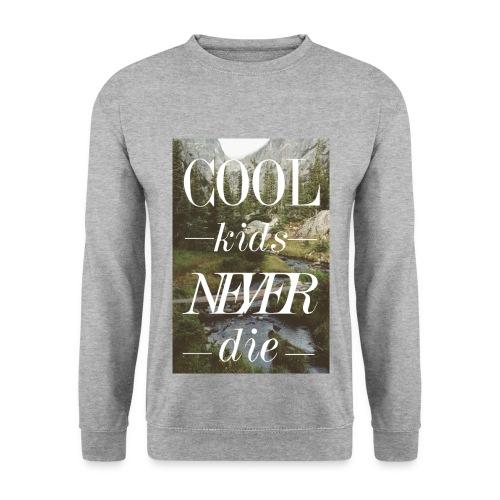 Cool Kids never Die - Männer Pullover