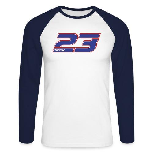 Tim 23 - Langarm-Shirt - Männer Baseballshirt langarm