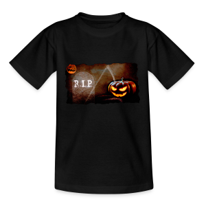 Halloween schauriger Friedhof - Teenager T-Shirt