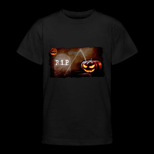 Halloween schauriger Friedhof - Teenager T-Shirt