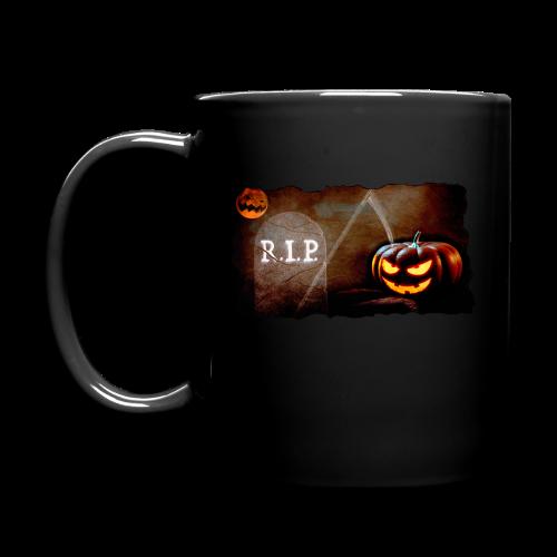 Halloween schauriger Friedhof - Tasse einfarbig