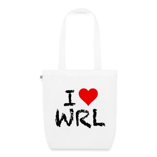 I Love WRL EarthPositive Tote Bag - EarthPositive Tote Bag