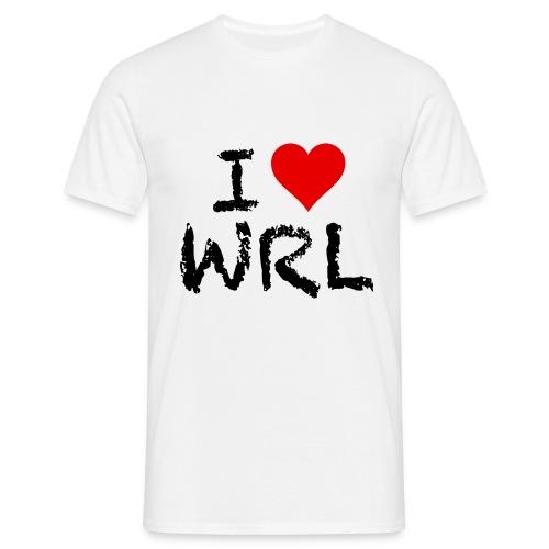 I Love WRL Men's T-Shirt - Men's T-Shirt