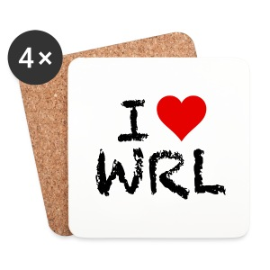 I Love WRL Coasters (Pack of 4) - Coasters (set of 4)
