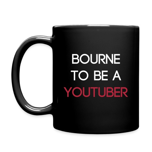 Bourne to be a youtuber/retro gaming mug - Full Colour Mug