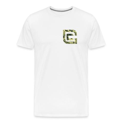 csgo_gags v1 green camouflage (Spreadshirt Premium Shirt) - Männer Premium T-Shirt