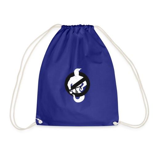 Ghost Buster bag - Drawstring Bag