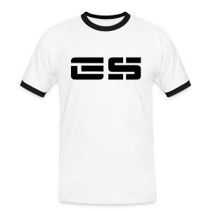 GS Modern Stencil - Männer Kontrast-T-Shirt